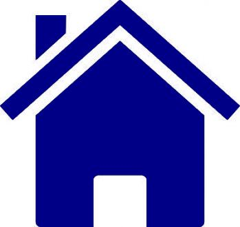 graphic icon of house