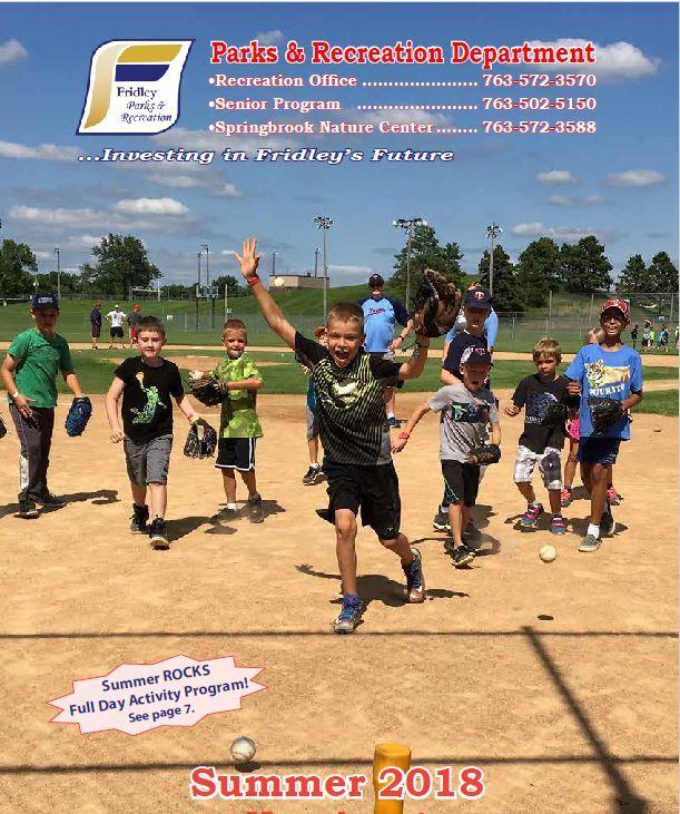Recreation Brochure | Fridley, MN - Official Website