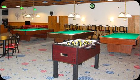 Pool and foosball table