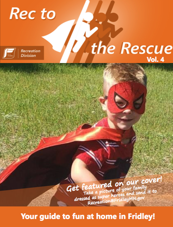 Rec to the Rescue Activity Guide - Cover