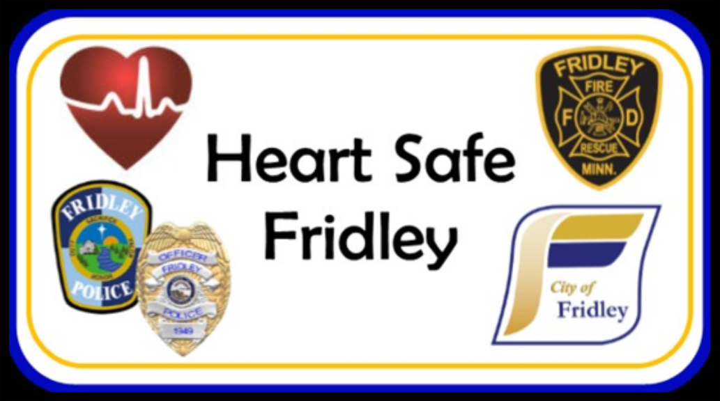 Heart Safe Fridley logo