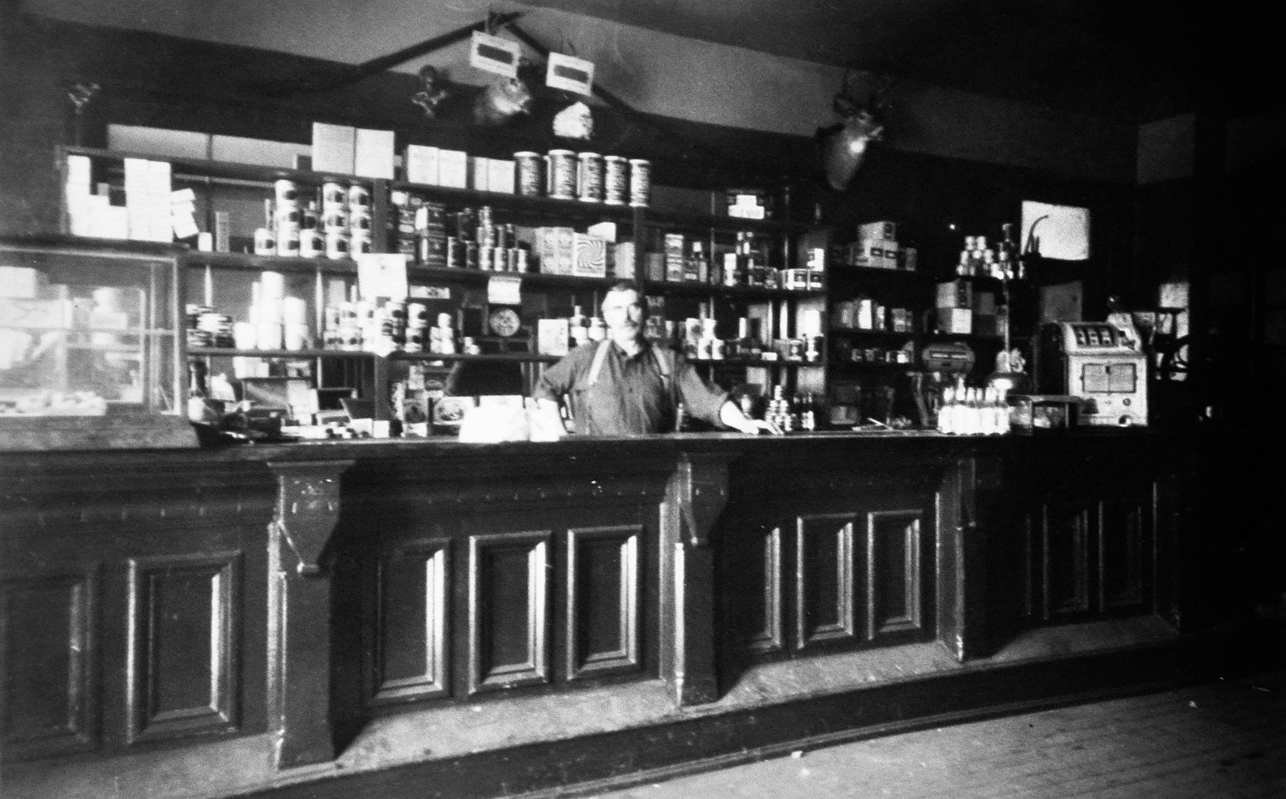 Storekeeper at Fridley Liquor, Old Photos