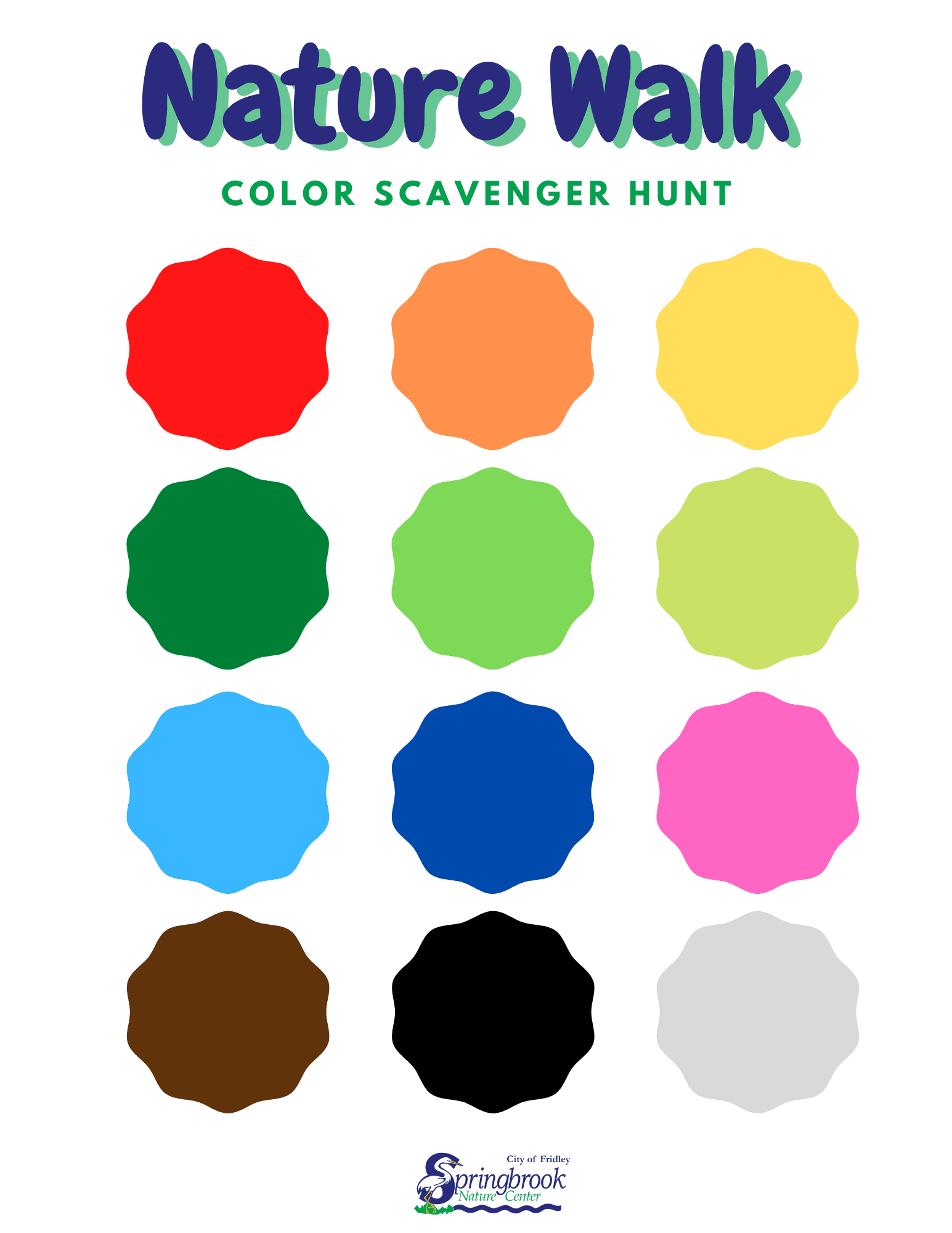 Color Scavenger Hunt Opens in new window