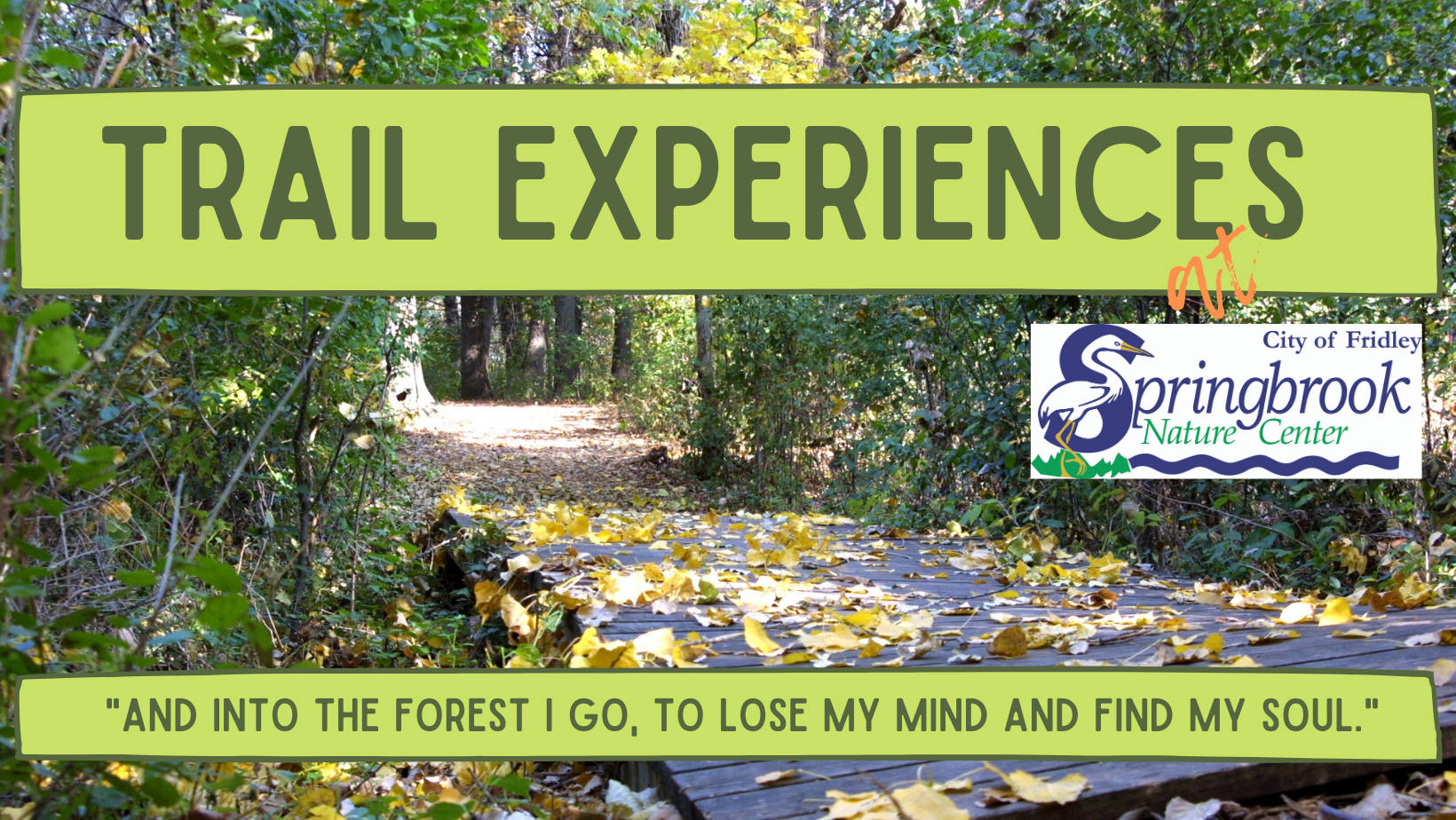 Trail Experiences Opens in new window